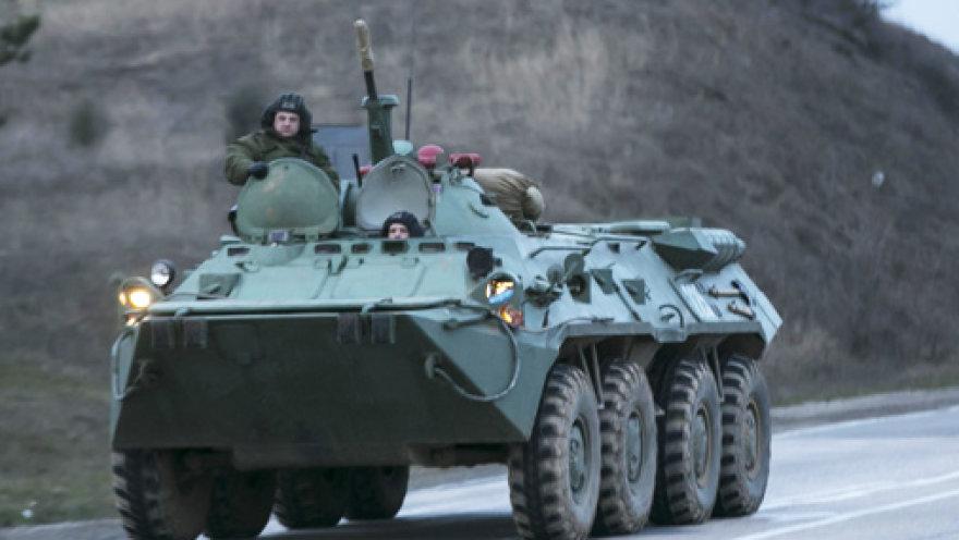 ВМС Украины: ни одна из воинских частей в Крыму россиянам не сдалась