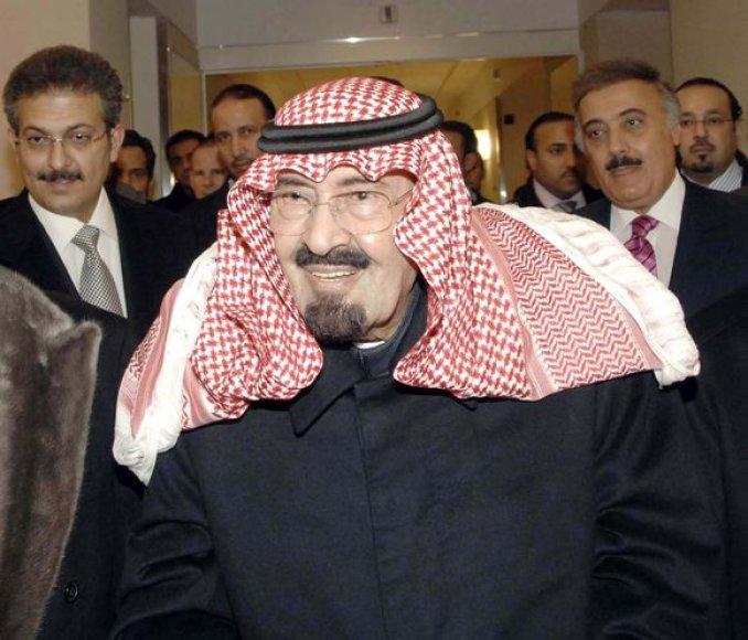 Saudo Arabijos karalius Abdullah