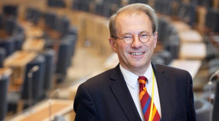 Švedijos Riksdago pirmininkas Peras Westerbergas
