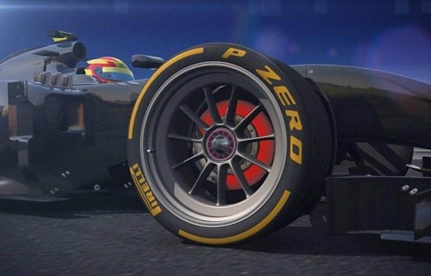 """Pirelli"" R18 padanga"