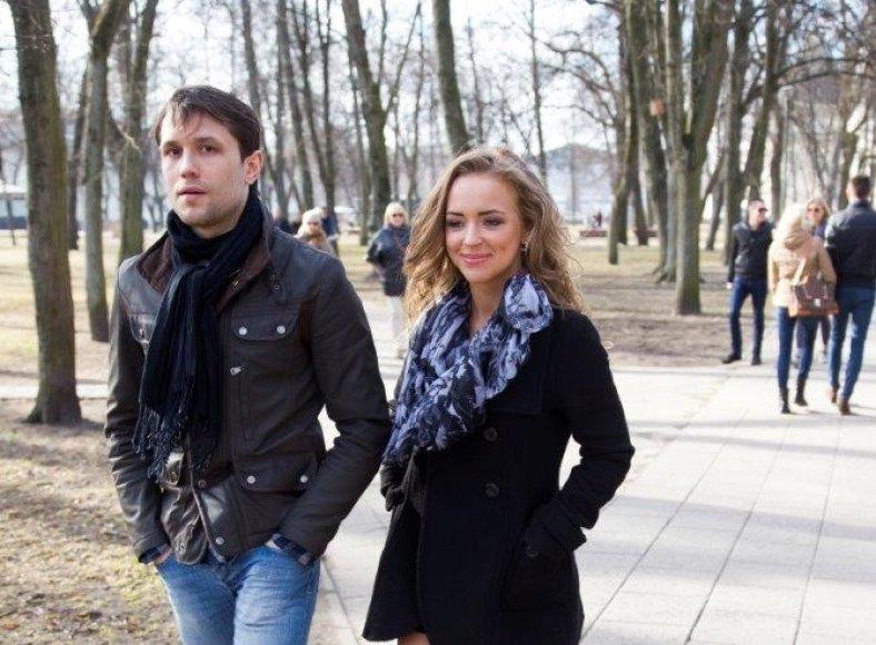 Monika Šalčiūtė ir Vytautas Raudonis