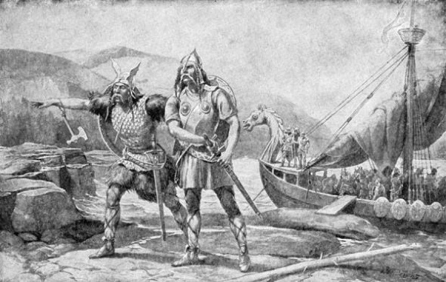 Senovės lietuviai iš vikingų mokėsi ir prekybos vergais