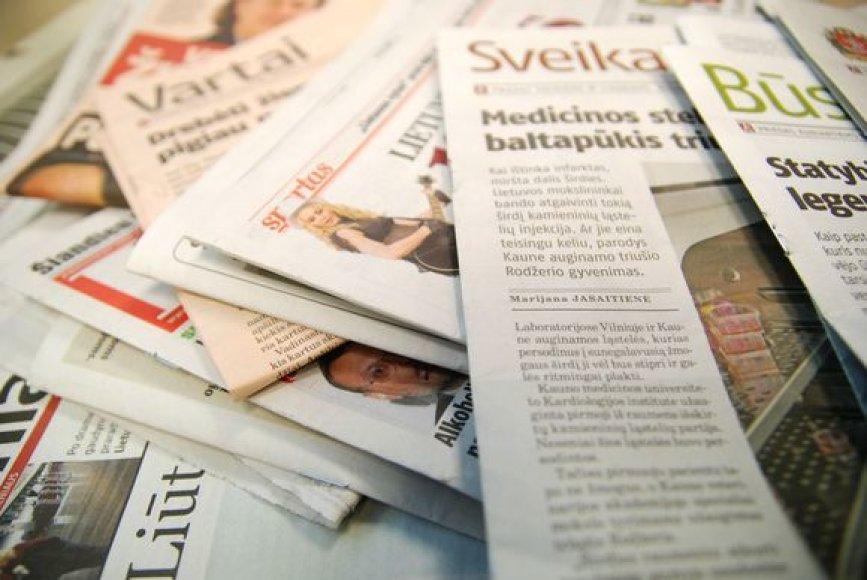 Laikraščiai