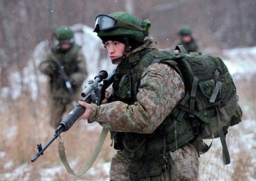 Rusijoje bandoma nauja ekipuotė