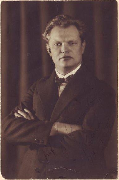 Kompozitorius Juozas Gruodis