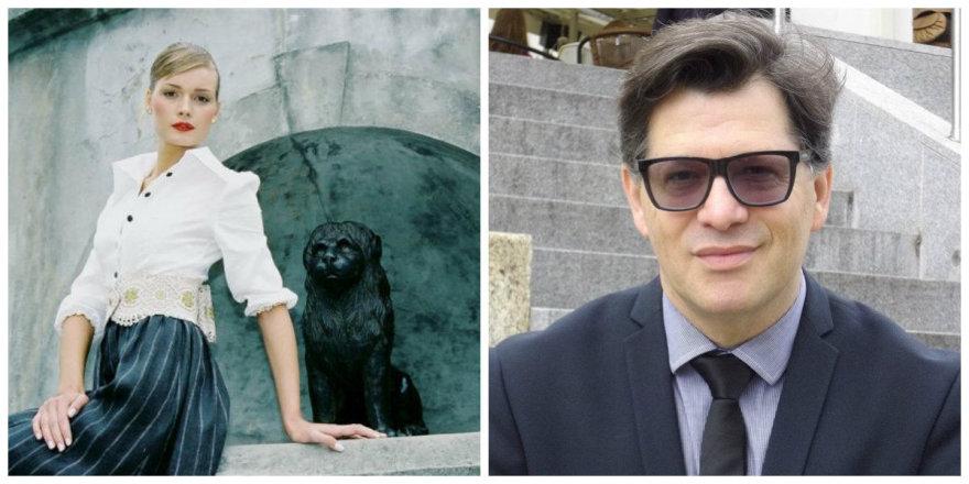Jurgita Jurkutė-Širvaitė ir Eugenijus Skerstonas