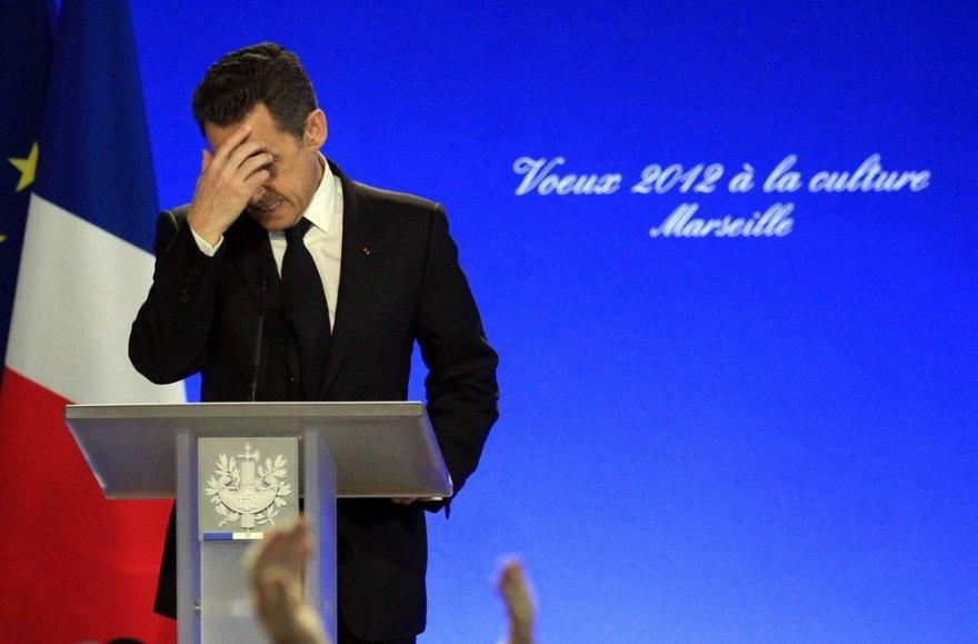 Prancūzijos prezidento Nicolas Sarkozy kalba