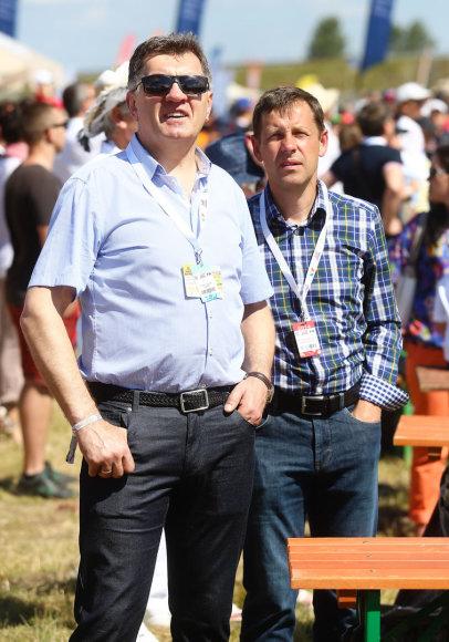 Algirdas Butkevičius ir Darius Jonušis