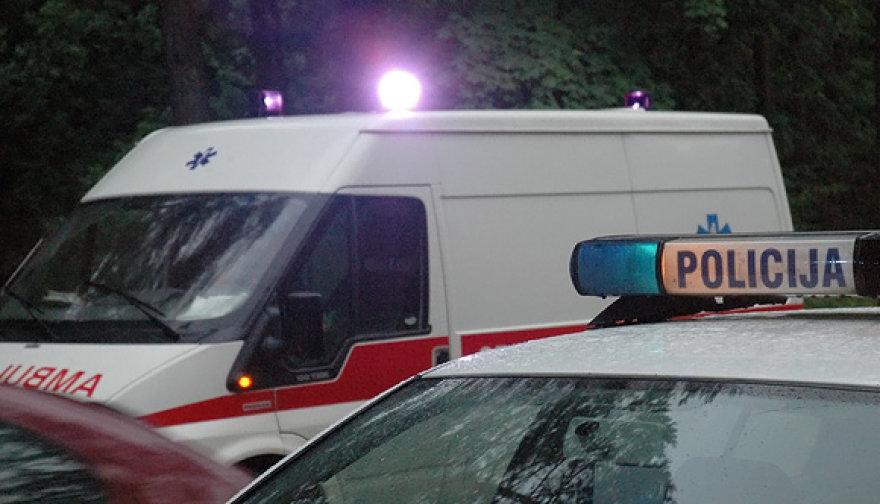 Policija ir greitoji medicinos pagalba