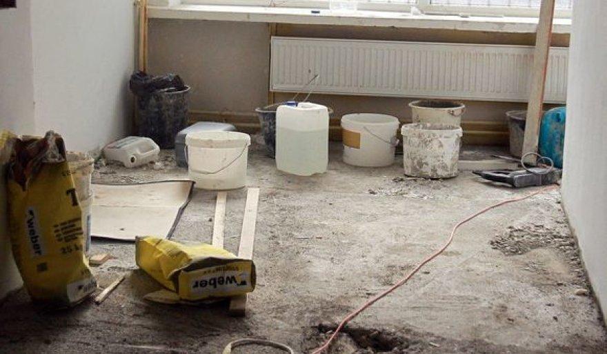 Statybininkai, statybos, remontas. statybininkas