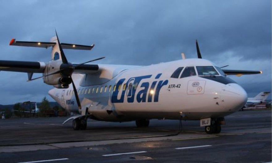 """""""UTair"""" kompanijos lėktuvas"""