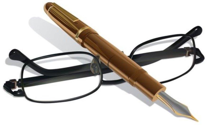 Plunksna ir akiniai