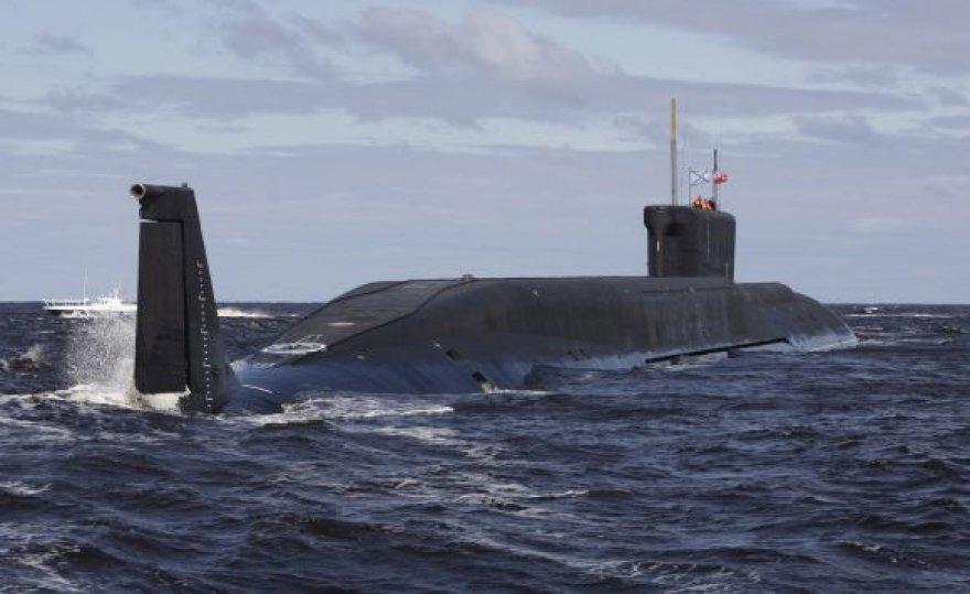 """Atominis povandeninis laivas """"Jurijus Dolgorukis"""""""