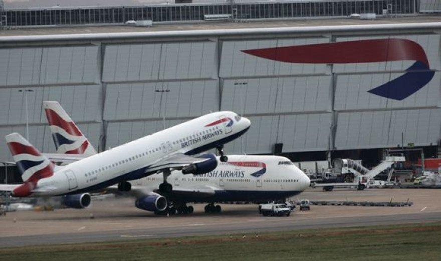 """British Airways""  lėktuvai"