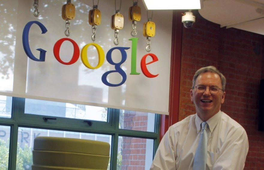 """""""Google"""" valdybos pirmininkas Ericas Schmidtas."""
