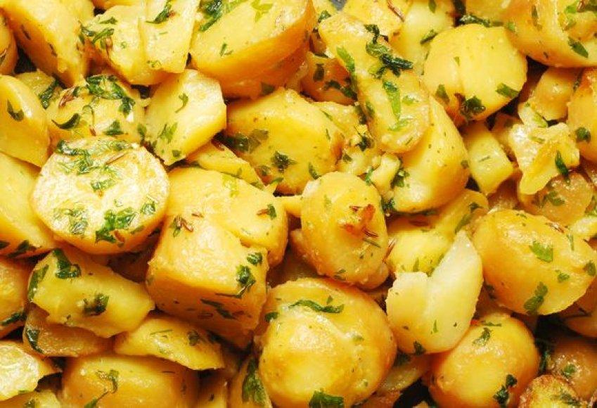 Rudenį bulvės šviežios ir nepraradusios skonio, tad eksperimentuokite bandydami įdomesnius patiekalus.
