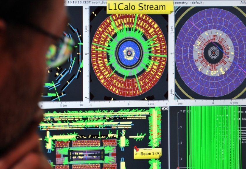 LHC valdymo pultas