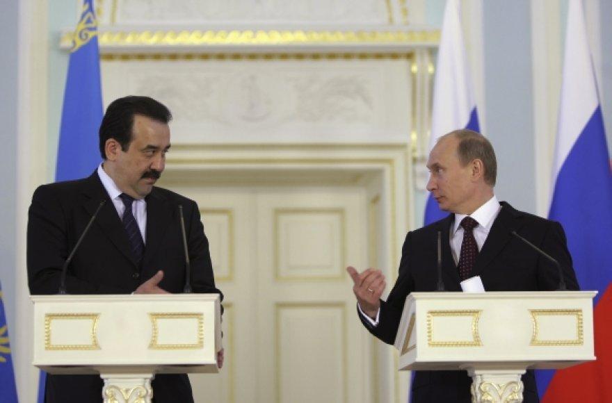 Karimas Masimovas ir Vladimiras Putinas