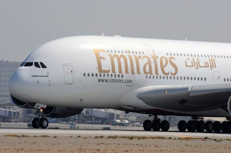 """""""Emirates"""" lėktuvas"""