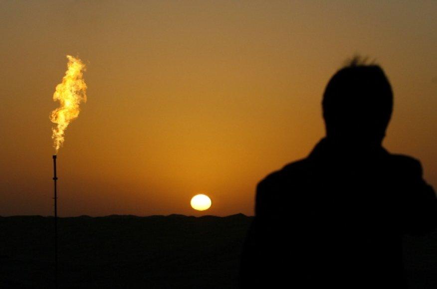 Naftos saulėlydis.