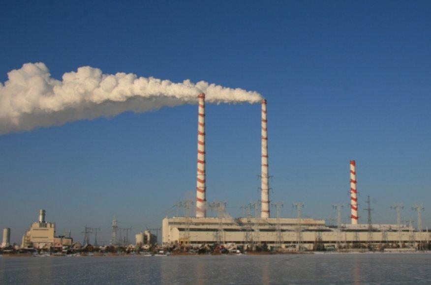 Šiomis dienomis Lietuvos elektrinės du blokai dirba maksimaliu režimu.