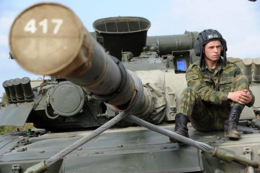 Rusijos tankas T-80