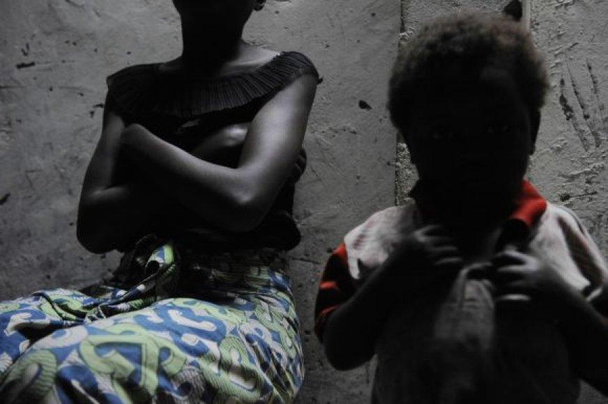 Kongo Demokratinė Respublika: seksualinės prievartos auka ir jos vaikas