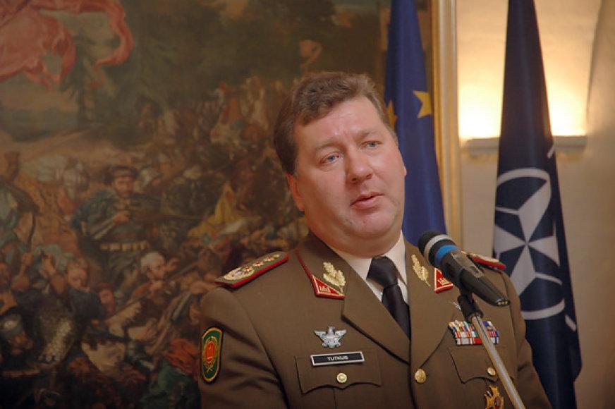 Lietuvos kariuomenės vadas generolas leitenantas Valdas Tutkus