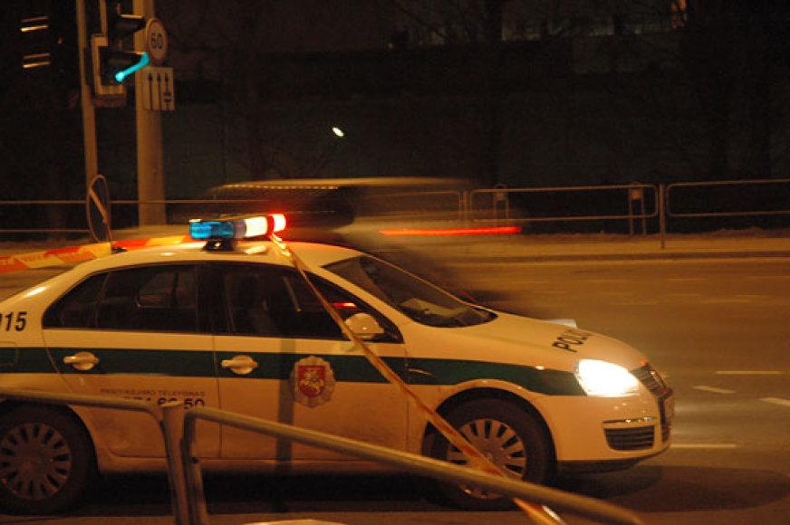 Policija įvykio vietoje
