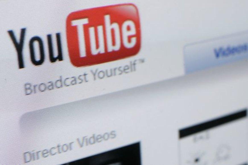 """""""YouTube"""" rodys filmus"""