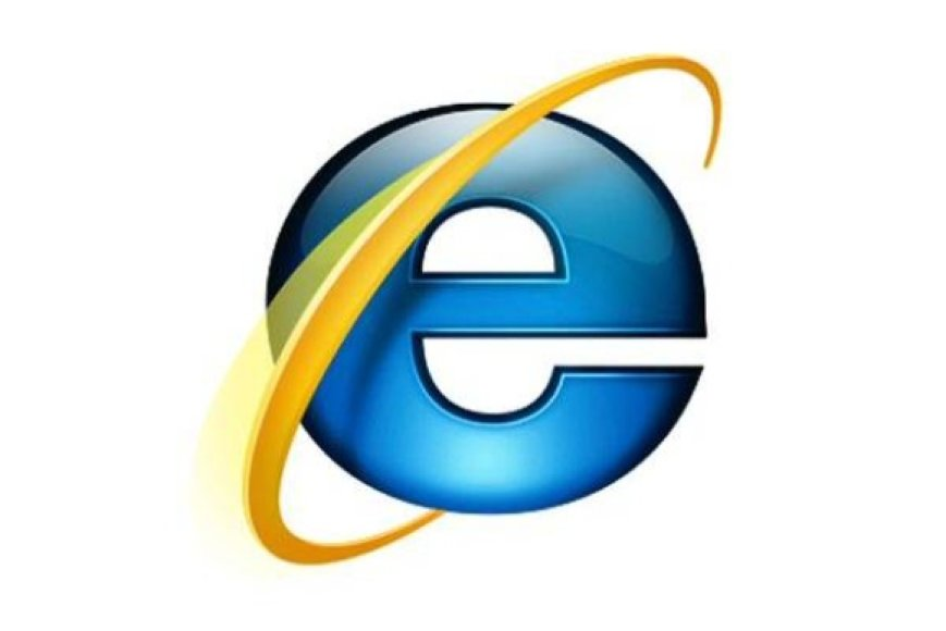 """Naršyklės """"Internet explorer"""" logotipas"""