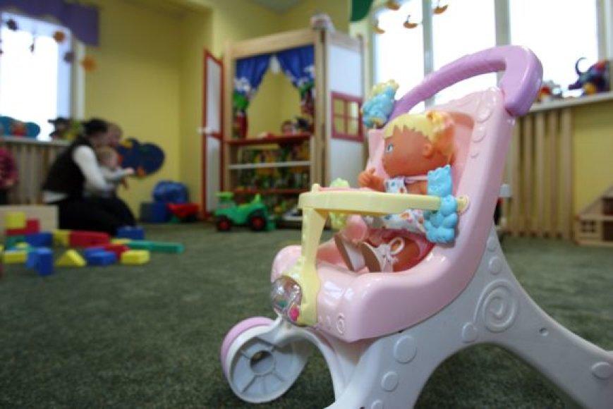 Privačiame Kauno darželyje vaikai gali praleisti ir pusę dienos. Vienuolika 2–4 metų amžiaus mažylių prižiūri trys auklėtojos.