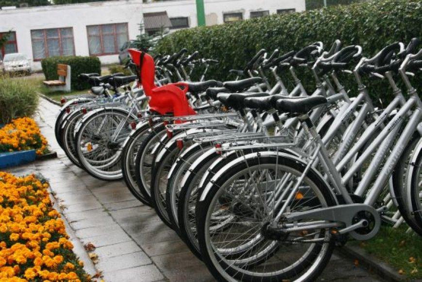 Šiemet Palangoje pavogta itin daug dviračių.
