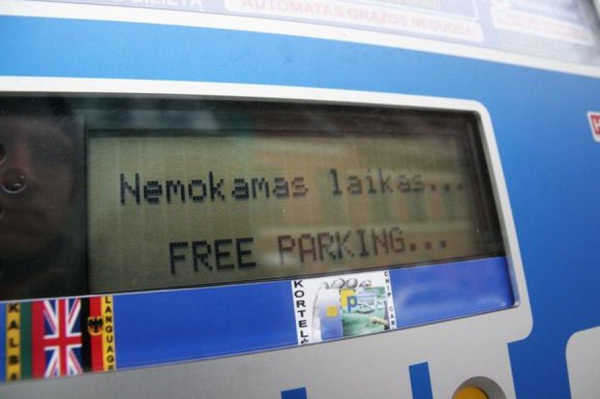 Nemokamas parkavimas