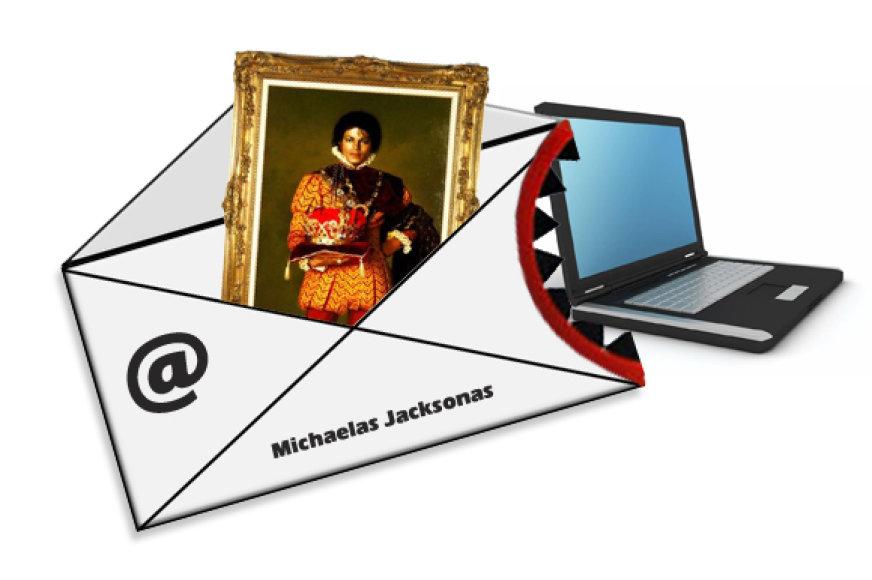Apgaulingas laiškas su virusu