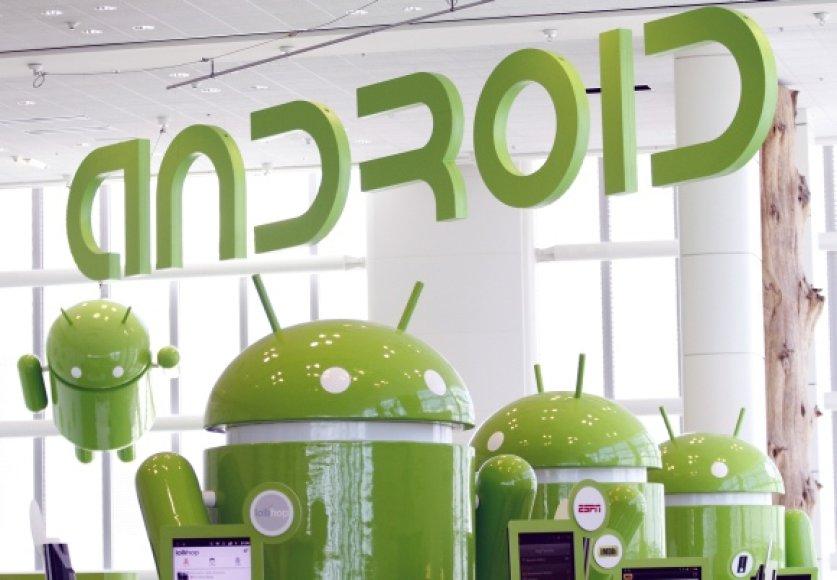 """""""Android"""" talismanai"""