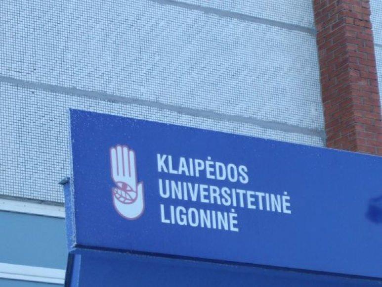 Klaipėdos universitetinė ligoninė.