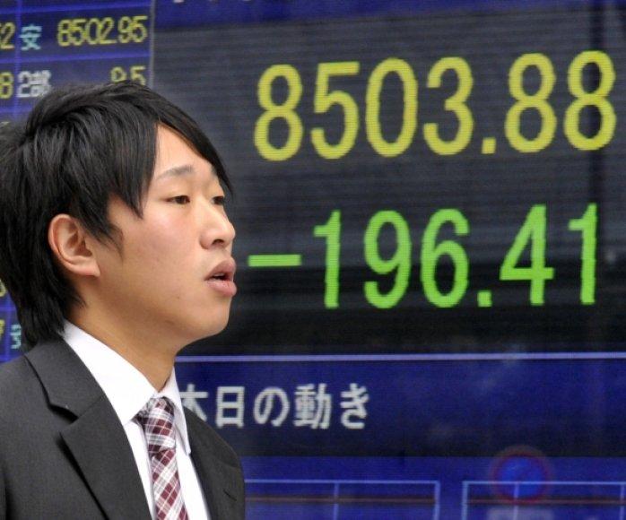 Azijos rinkos antradienio rytą pasitiko smukimu.
