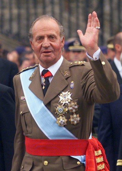 Ispanijos karalius Juanas Carlosas (1999 m.)