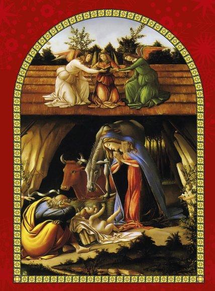 Kalėdinių giesmių festivalio afiša