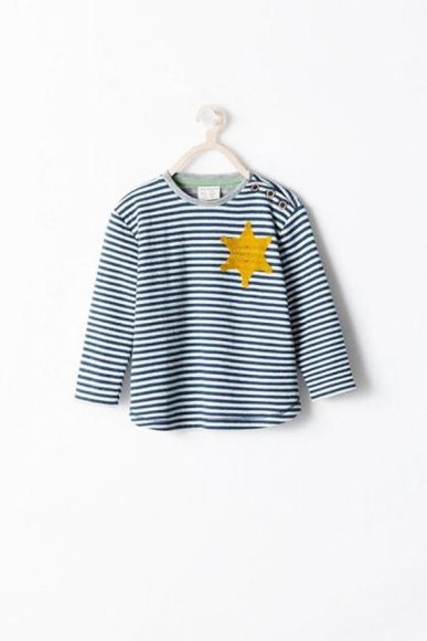 """Vaikiški """"Zara"""" marškinėliai, sukėlę diskusijas"""
