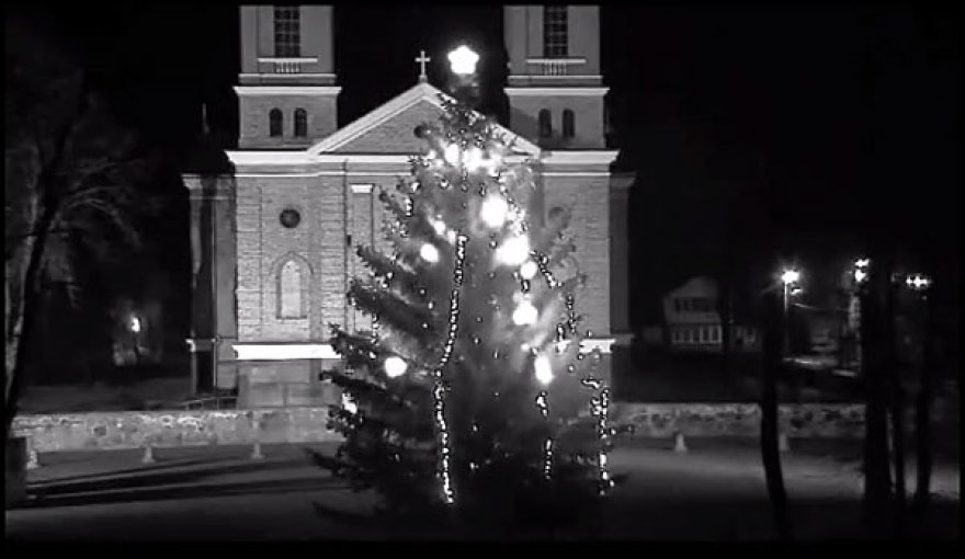 Kalėdų eglė Vievyje