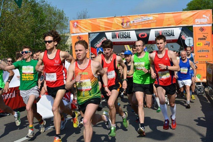 Trakų pusmaratonis, nuotraukos autorė Daiva Dilienė