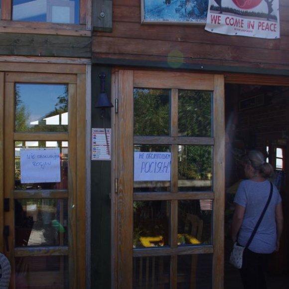 Sopoto restoranas, kuriame rusai neaptarnaujami