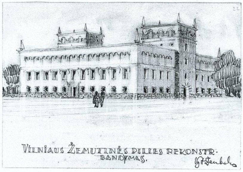 Didžiojo kunigaikščio Vladislovos Vazos laikais Valdovų rūmuose pastatyta pirmoji opera Lietuvoje