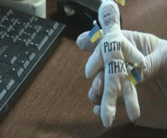Vladimiro Putino vudu lėlė