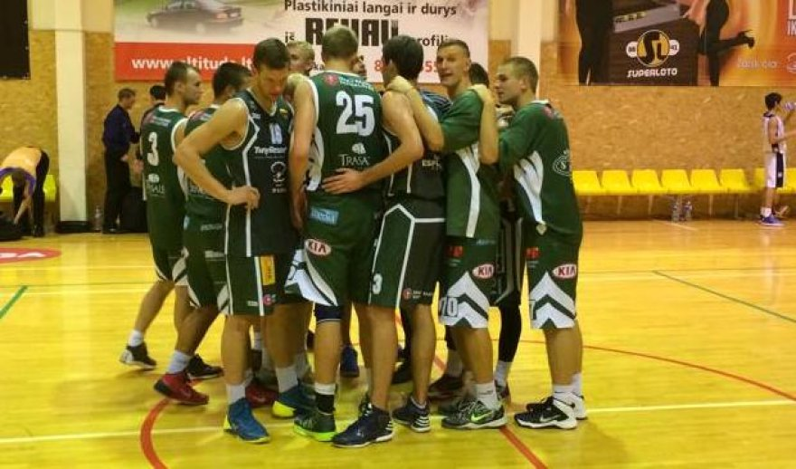"""""""Trakų"""" krepšinio komanda"""