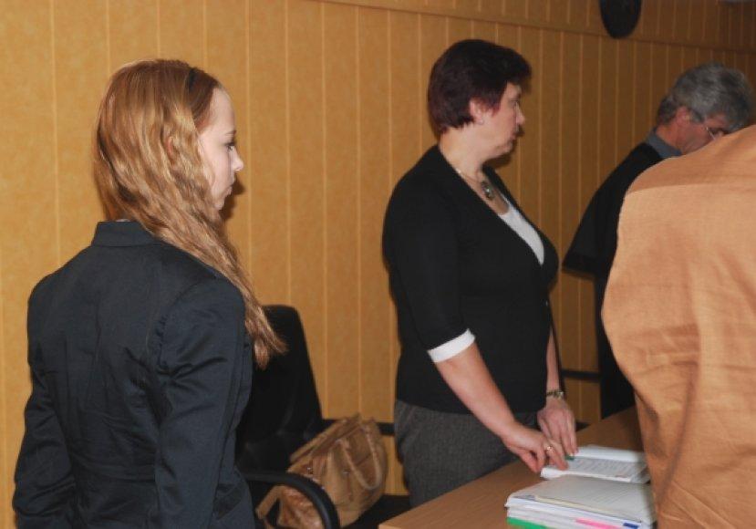 Ieškovės Renata Gramauskaitė ir Aldona Gramauskienė teisme