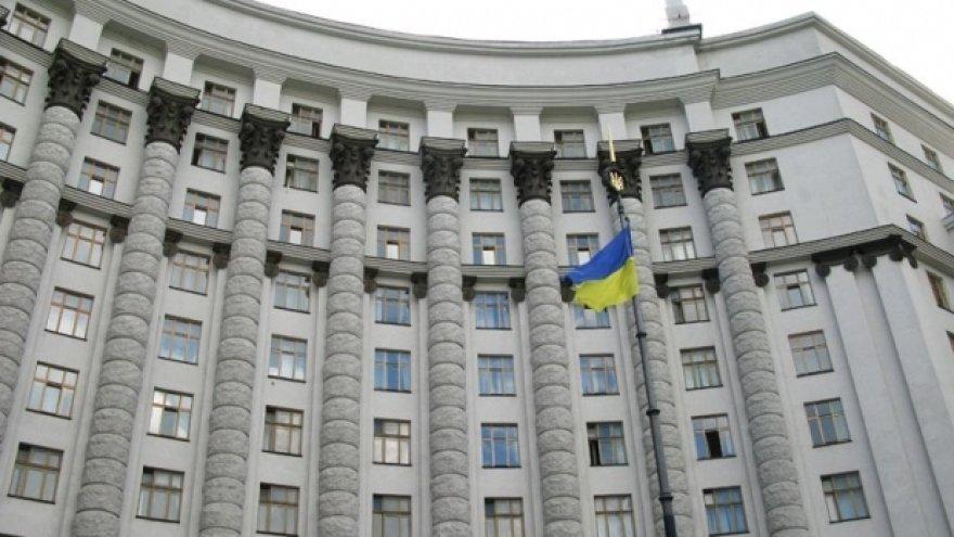 Ukrainos vyriausybė Kijeve