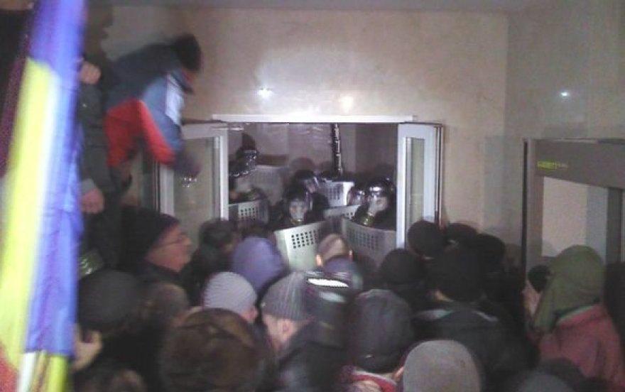 Protestuotojai Moldovoje